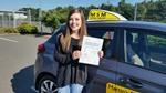 First time driving test pass for Caitlin Duncan