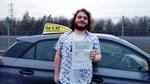 Callum Westwood after passing driving test