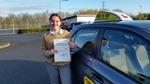 Caitlin Allen passes driving test