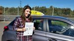 emma clarke passes driving test