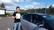 George Arthur driving test pass
