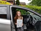 Amy Brazier driving lessons testimonial