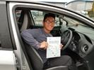 Kim Macha first time driving test pass