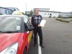 Ben passes Driving test at Shrewsbury